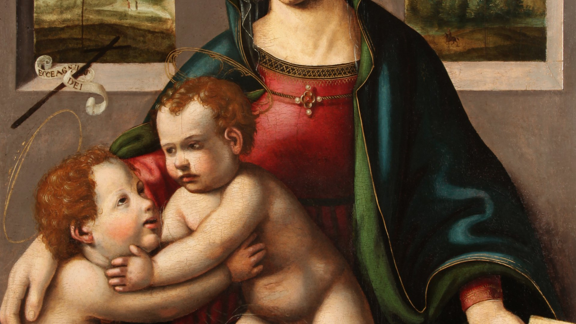 The Virgin and Child with Little Saint Jean
