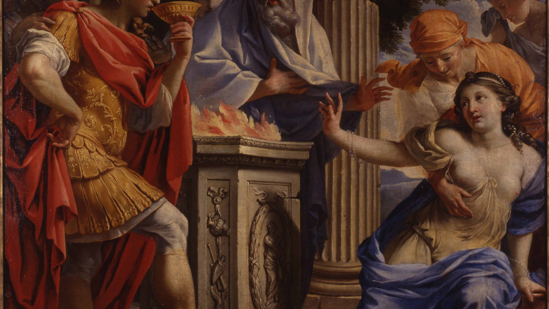 The Poisoning of Camma and Synorix at the Temple of Diana